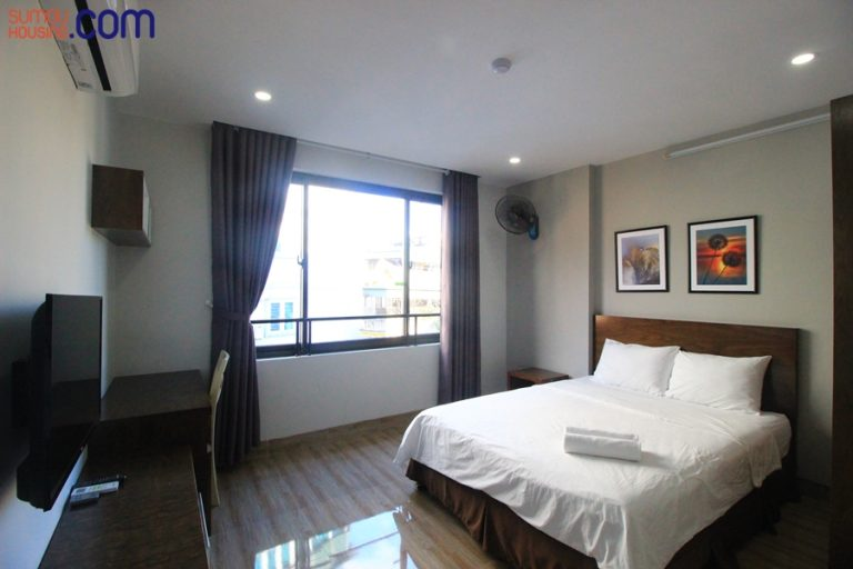 Nice cheap studio apartment for rent in Hanoi, fully