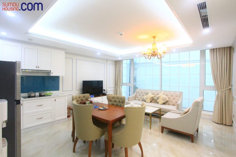 Luxury apartment for rent in Hanoi, 2 beautiful and ...